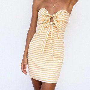 Sabo Skirt - Citrus Stripe Dress